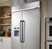 Amerikanisch-Kühlschrank / aus Edelstahl / Öko / Einbau