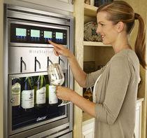 Wohnbereich-Weinkühlschrank / Einbau / Unterbau / aus Metall