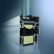 Pendeltüren-Fenster / Aluminium / Doppelverglasung / Wärmedämmungen