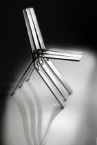 Stuhl / originelles Design / Stahl