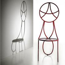 Stuhl / originelles Design / Metall