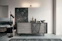 Modernes Sideboard / Eisen / gestrichenes Metall / Laminat