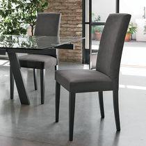 Moderner Stuhl / Hochlehner / Textilfaser