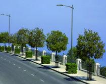Straßen-Laterne / modern / aus verzinktem Stahl / LED