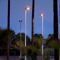 Straßen-Laterne / modern / aus Metall / LED