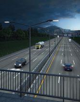 Straßenlaterne / modern / Aluminium / mit Diffusor aus Hartglas