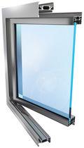 Fenster zum Schieben / aus PVC / Wärmedämmungen / für Geschäftsgebäude