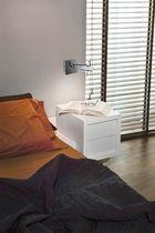 Moderne Wandleuchte / Aluminium / Stahl / LED