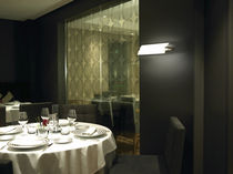 Moderne Wandleuchte / Glas / Messing / LED