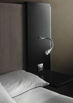 Moderne Wandleuchte / Aluminium / LED / orientierbar