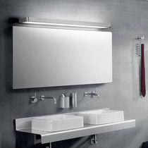 Moderne Wandleuchte / Glas / Aluminium / aus Polycarbonat