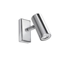 Moderne Wandleuchte / Stahl / LED / Rohr