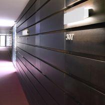 Moderne Wandleuchte / Stahl / LED / rechteckig