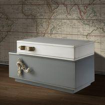 Moderner Nachttisch / Holz / Rechteckig