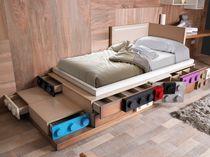 Kombiniertes Bett / Modern / Holz / Für Kinder (Jungen Und Mächen)