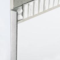 Aluminiumabschlussprofil / für Außeneckprofil / für Fliesen