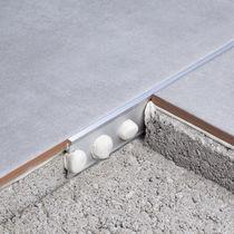 Aluminiumtrennprofil / Messing / für Fliesen
