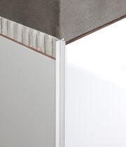 Aluminium-Abschlussprofil / für Außeneckprofil / für Fassaden / für Trennwandsysteme