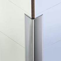 PVC-Abschlussprofil / für Fliesen / für Außeneckprofil