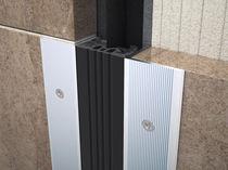 Aluminium-Dehnungsfuge / für Dämme