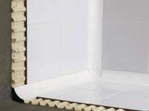 Aluminiumabschlussprofil / für Fliesen / für Kunst Inneneckprofil