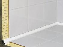 PVC-Abschlussprofil / für Fliesen / für Kunst Inneneckprofil