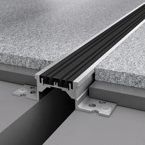 Aluminium-Dehnungsfuge / für Böden
