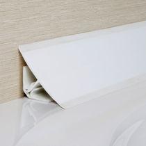 PVC-Abschlussprofil / für Kunst Inneneckprofil
