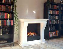 Elektrischer Kamin / traditionell / offene Feuerstellen / einbaufähig
