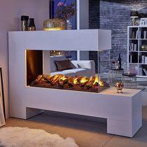 Elektrischer Kamin / modern / offene Feuerstellen / einbaubar