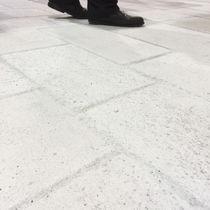 Fliesen für Außenbereich / Fußboden / Beton / uni