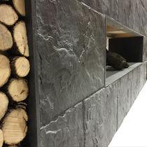 Beton-Wandverkleidung / Privatgebrauch / Struktur / Steinoptik