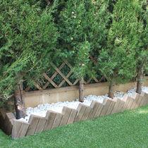 Garten-Randeinfassung / Beton / ander Form