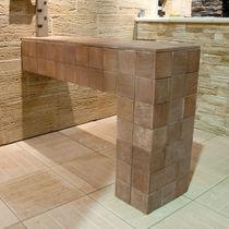 Kunststeinverblender / Innenbereich / für Außenbereich / Struktur