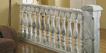 Marmor Balustrade / für Außenbereich / für Terrassen