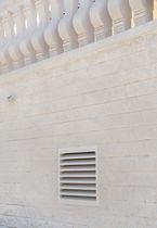 Kunststeinlüftungsgitter / quadratisch