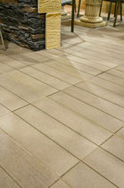 Fliesen für Außenbereich / Fußboden / Beton / matt