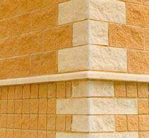 Hohlbetonstein / für Trennwandsysteme / hocheffizient / unverputzt