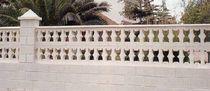 Beton-Balustrade / Platten / für Außenbereich / für Balkon