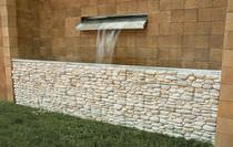 Betonverblender / Innenbereich / für Außenbereich / Steinoptik