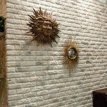 Beton-Wandverkleidung / Privatgebrauch / Struktur / Ziegeloptik