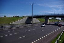Stahlbeton-Stützmauer / Modulare / Fertigbau