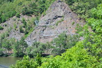 Steinschlagschutzzaun