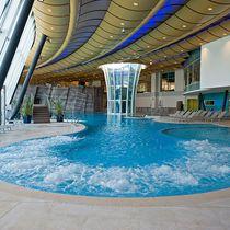Erdverlegtes Schwimmbecken / Beton / für Wellnesscenter / Innenraum