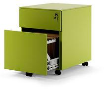Metall-Büroschubladenschrank / 3-Schubladen / 2 Schubladen / auf Rollen
