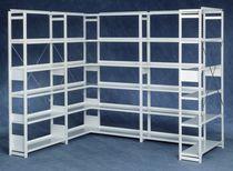 Standard-Regalsystem / für Waren / für Lagerung / aus Stahl