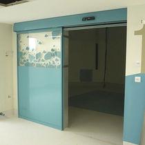 Innenbereich-Tür / zum Schieben / Glas / automatisch