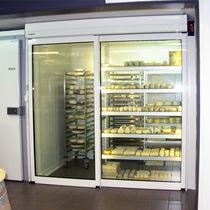 Innenbereich-Tür / zum Schieben / aus Aluminium / automatisch