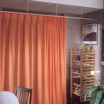 Vorhangschiene für drapierte Vorhänge / für berufliche Nutzung / für Gesundheitseinrichtungen / zur Raumtrennung