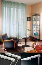 Vorhangschiene mit Leinenbetätigung / für Deckenmontage / für drapierte Vorhänge / für Privatgebrauch